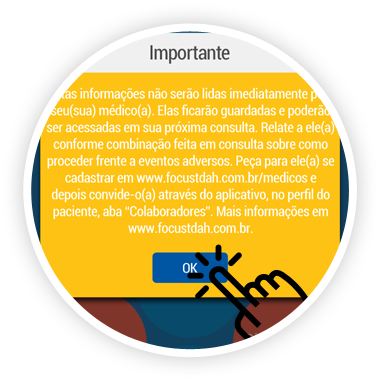 Eventos Adversos – Disclaimer